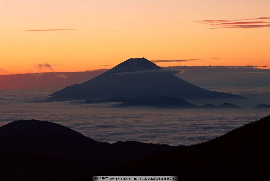 富士山 日本 雪山 旅游 国外旅游 摄影 自然景观 自然风景