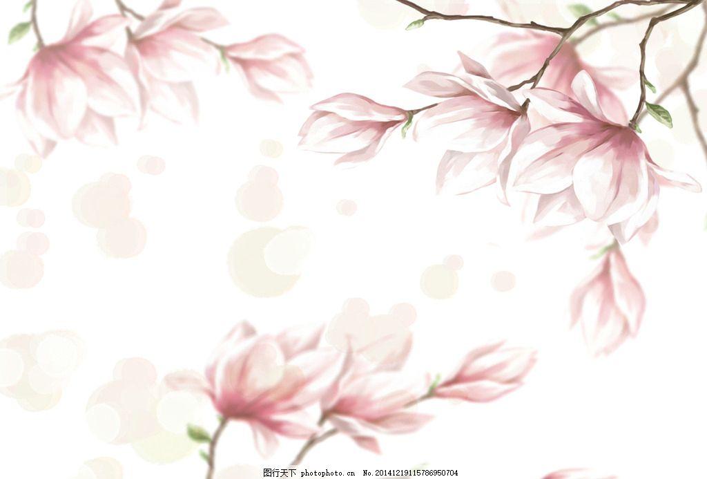 唯美 桃花 壁纸 唯美壁纸 墙纸 背景 底纹 花 花朵 粉色 粉红 温馨 ps