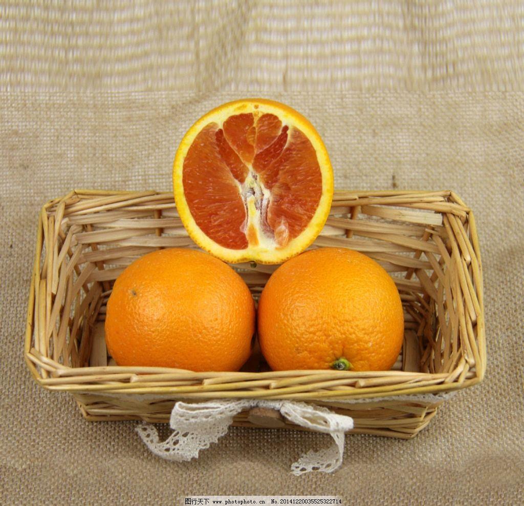 橙子 血橙 水果图片