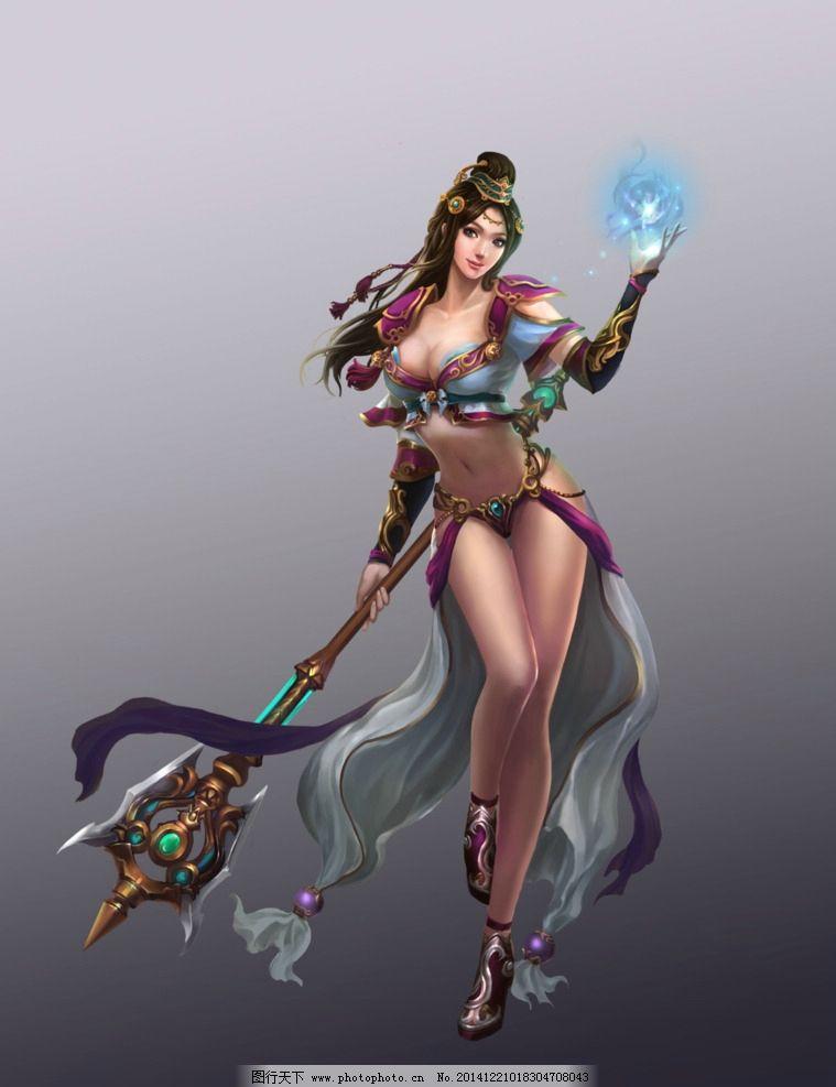 游戏 游戏原画 原画 游戏人物 人设 网游 古装 玄幻 武侠 武将 美女