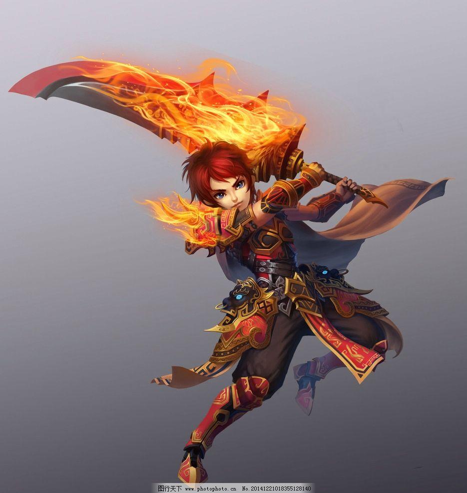 游戏 游戏原画 原画 游戏人物 人设 网游 古装 玄幻 武侠 武将 设计
