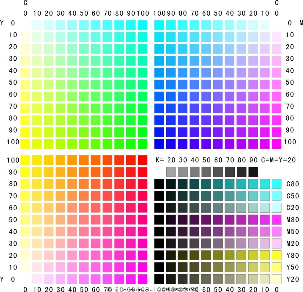 深紫色cmyk色值_喷绘中黄色cmyk值是多少?-喷绘中的金属色的CMYK值是什么? _汇潮 ...