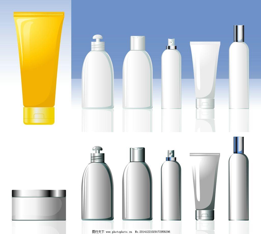 化妆品 容器 矢量 素材 包装 设计 广告设计 包装设计 300dpi eps