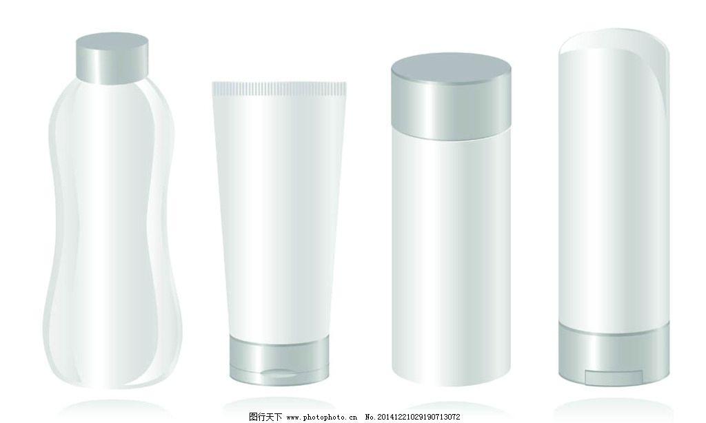 化妆品 容器 矢量 模板 包装 设计 广告设计 包装设计 300dpi eps