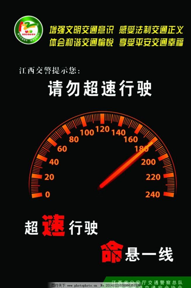 請勿超速行駛圖片