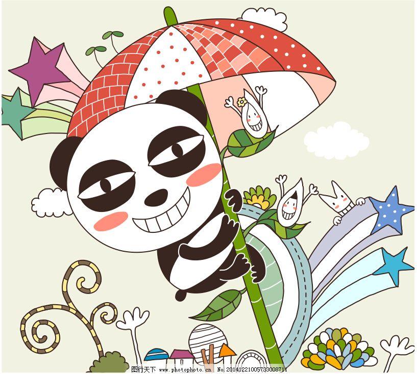 设计图库 动漫卡通 风景漫画  坏笑小熊熊免费下载 背景 玻璃贴 风景
