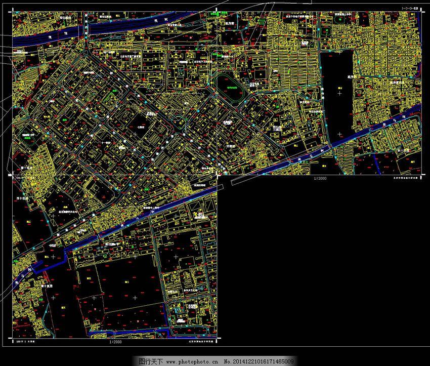 地形图及路网 地形图及路网免费下载 景观图 景观园林 园林建筑