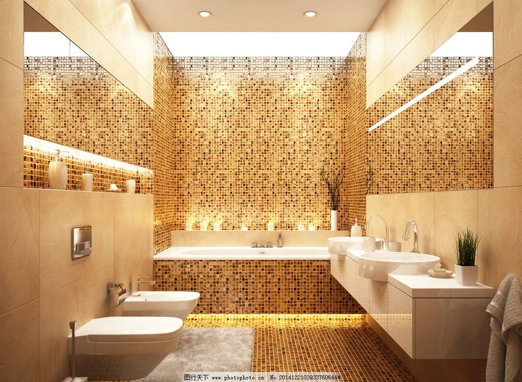 豪华卫生间 浴室卫生间 室内设计 五星级酒店 卫浴 设计 装修 装饰 装