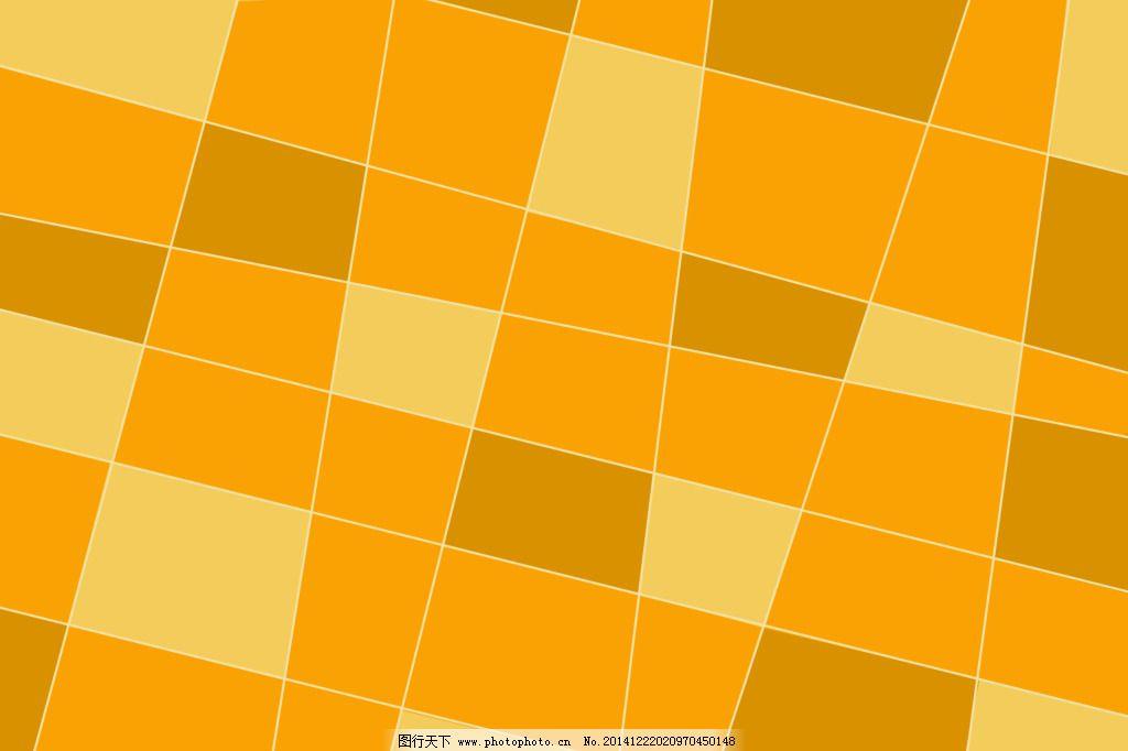 方块图案 黄色背景 几何背景 墙纸 桌布 黄色背景 几何背景 方块图案