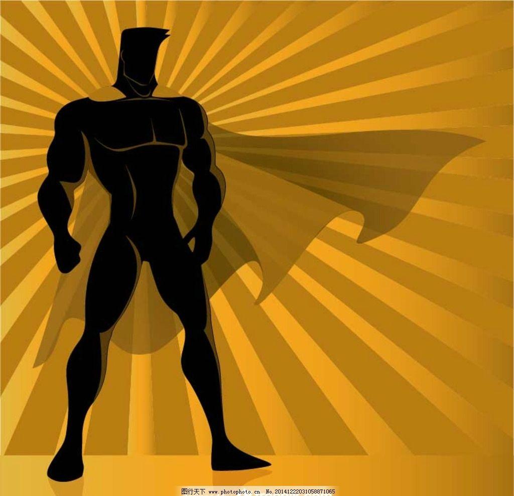 超人背景图片_其他_广告设计