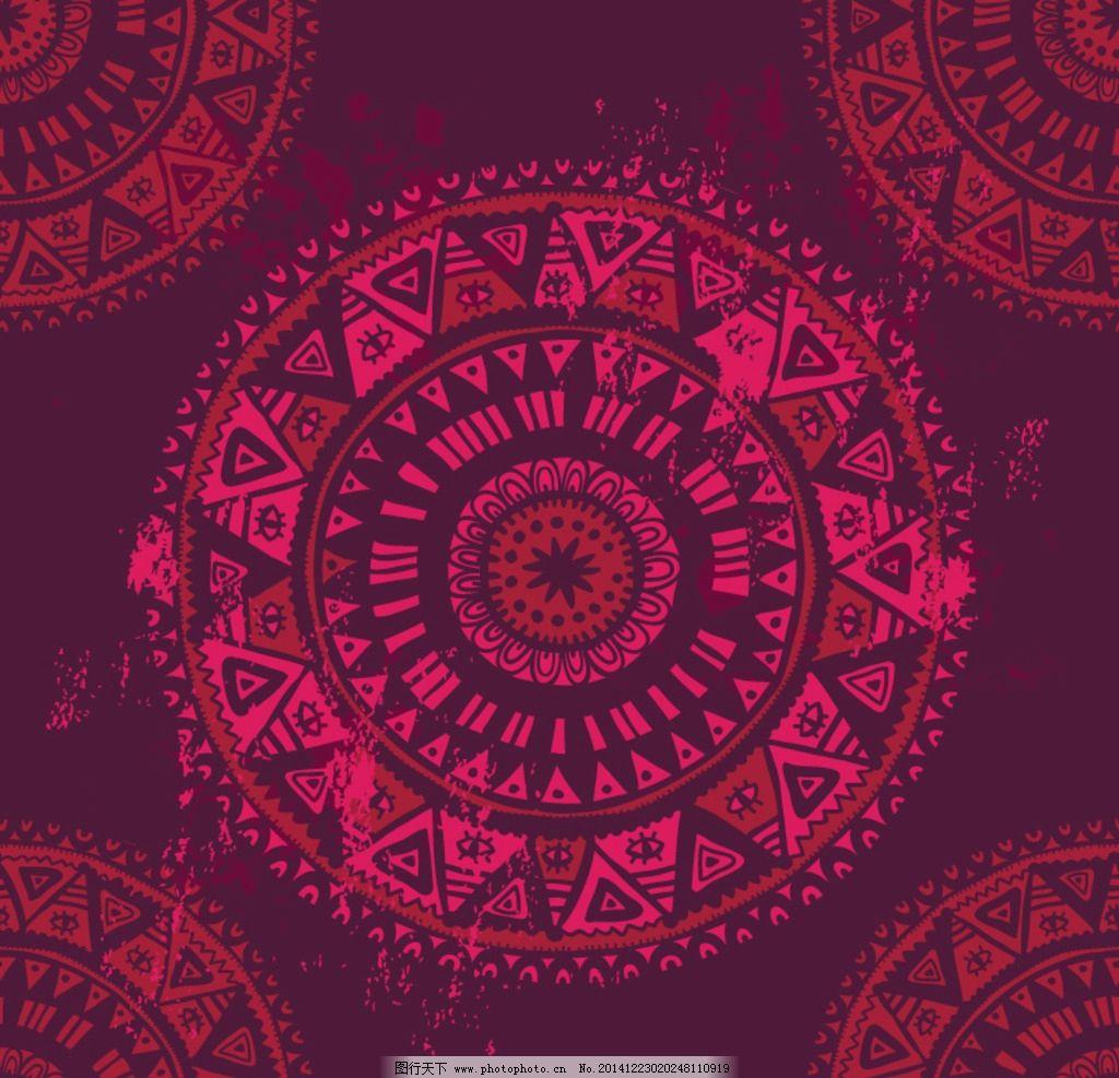 花纹底纹 欧式花纹 装饰 圆形 民族花纹 卡片底纹 古典花纹 花纹图案