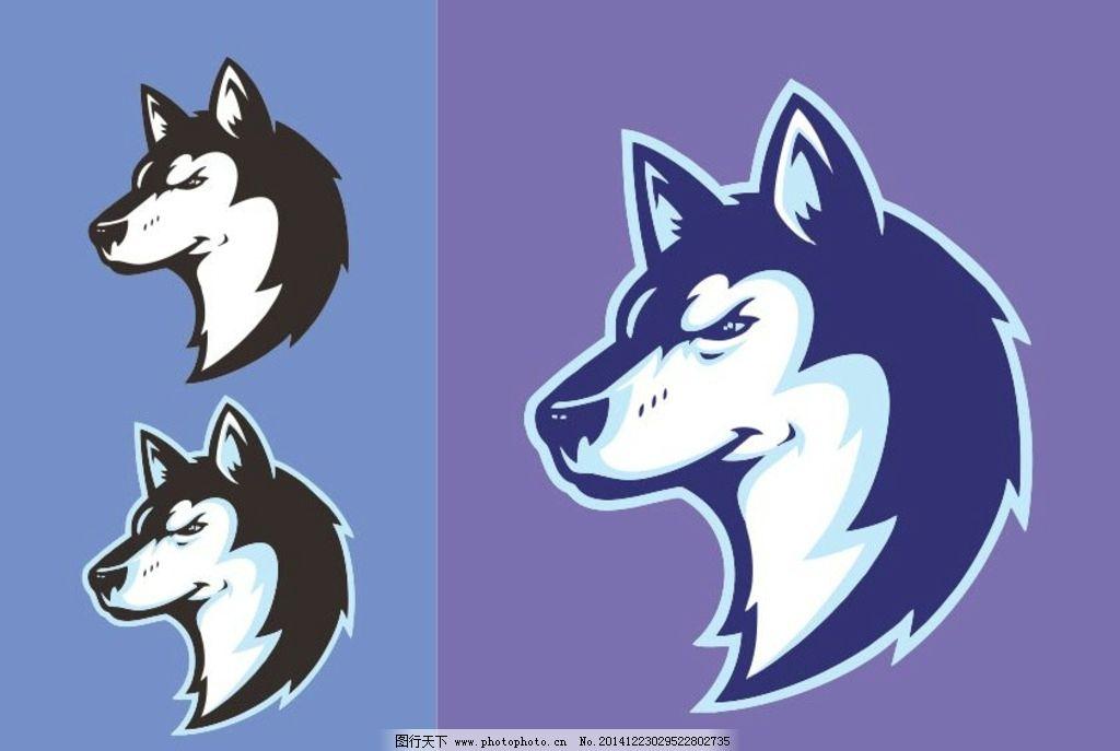 狼头野狼标志图片