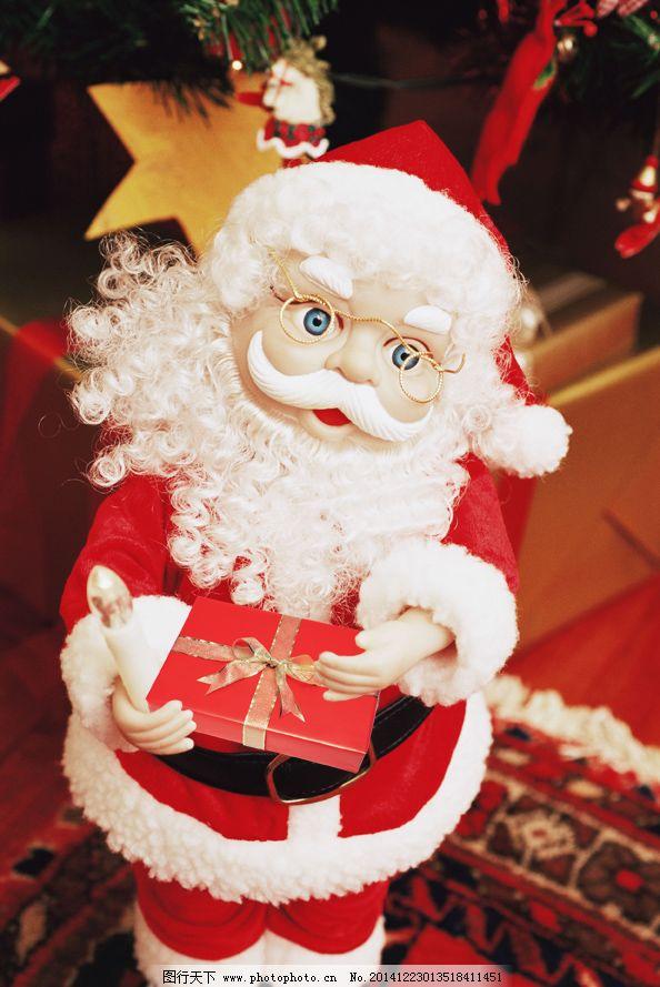 圣诞老人 礼物/捧着礼物的圣诞老人