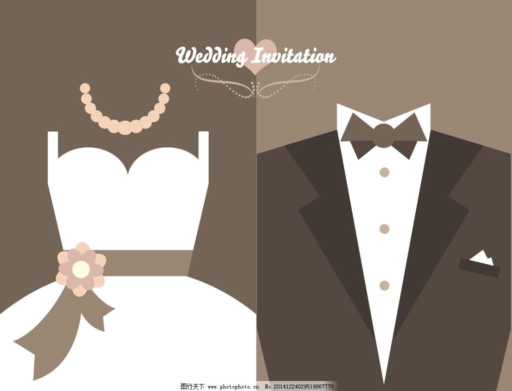 扁平化 设计 创意 浪漫 婚礼 结婚 新郎 新娘 礼服 请柬 邀请卡 请帖 色块 wedding 简约 设计 广告设计 广告设计 AI