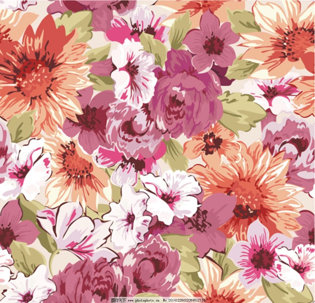 花卉手绘 菊花 玫瑰 月季 菊花手绘 玫瑰手绘 玫瑰花手绘 月季手绘