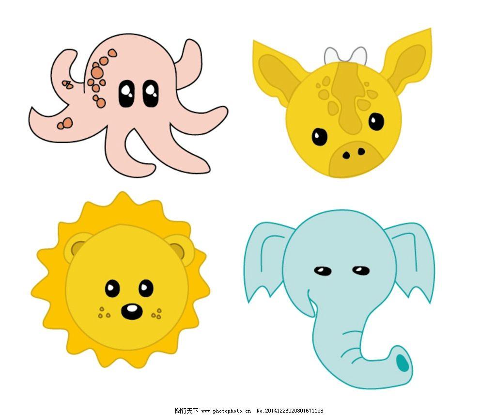 卡通小动物图片_其他_底纹边框_图行天下图库