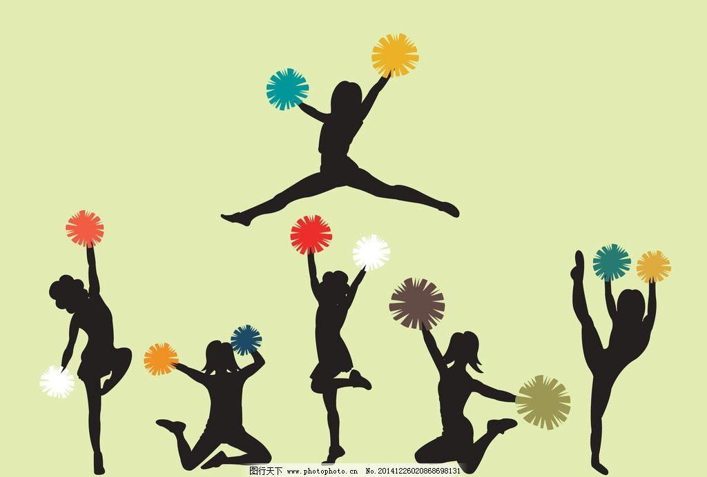 手绘舞蹈主题边框
