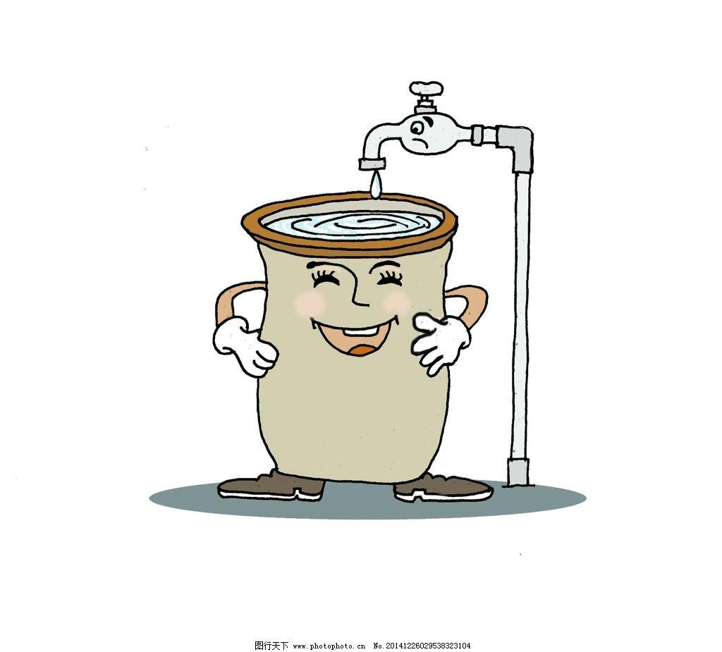 节约用水 节约用水漫画 节约用水图片 节约水卡通画 水漫画 用水漫画图片
