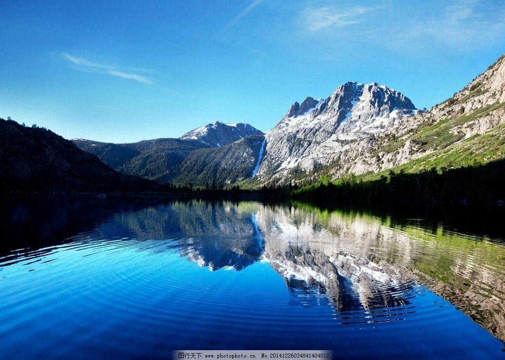 风景 蓝天 白云 壁纸 山