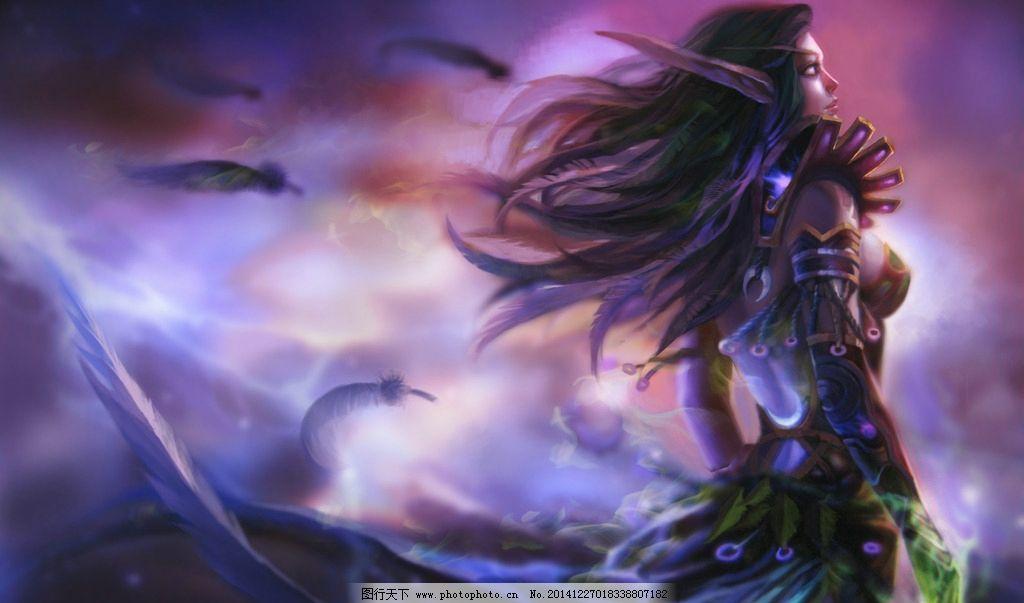 魔兽血精灵高清壁纸图片