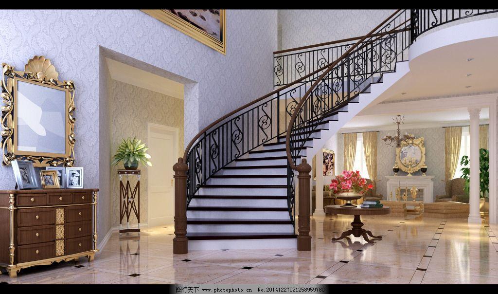 欧式家居楼梯