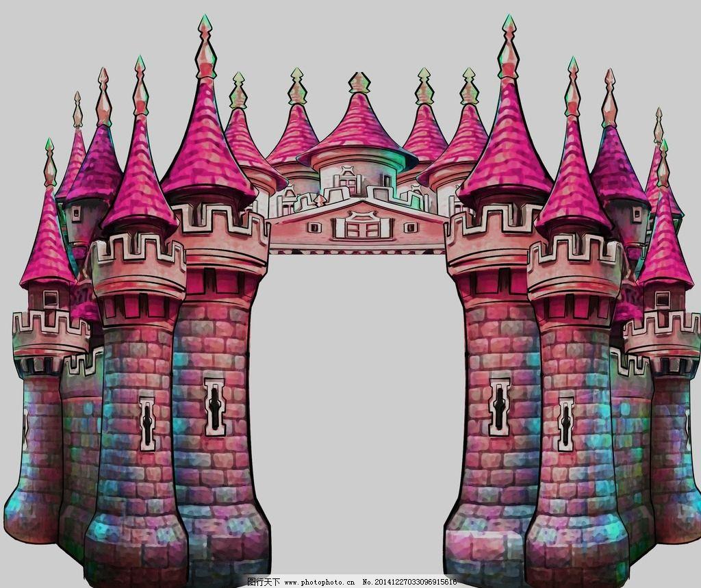 立体城堡婚礼设计图