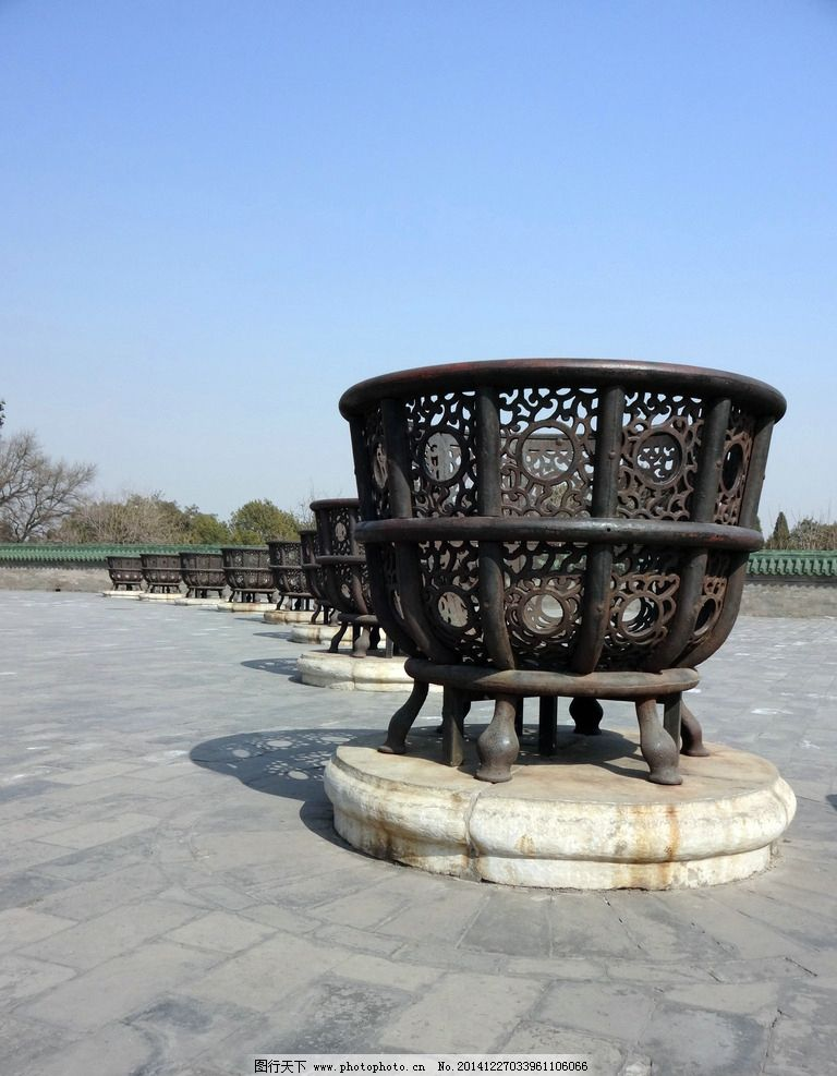 天坛一景 天坛公园 祭祀 祭天 祭祀器具 景观 传统文化 中国文化