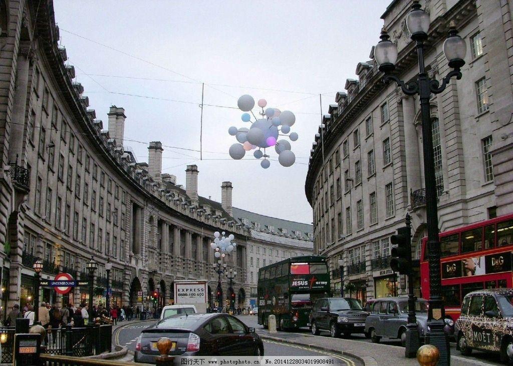 伦敦 街景图片