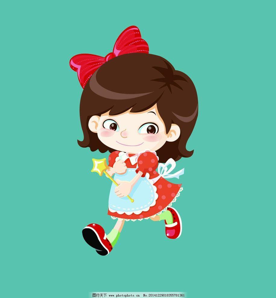 跪求有可爱的小女孩卡通形象,最好表情动作多些,能当配图的,可爱萌的