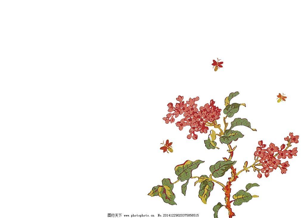 淡雅背景 淡雅 花卉背景 手绘 花卉 设计 底纹边框 花边花纹 300dpi