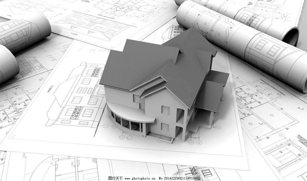 3d立体建筑施工绘图图片_3d作品设计_3d设计_图行天下