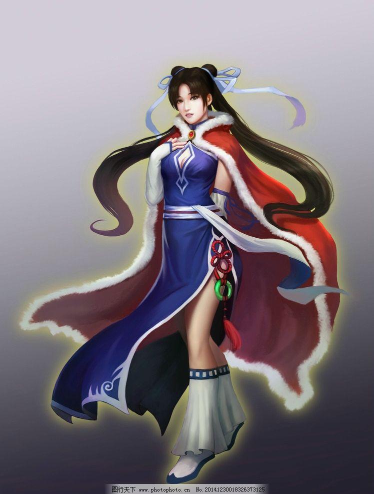 仙剑奇侠传 游戏 原画 游戏原画 游戏人物 网络游戏 网游人物
