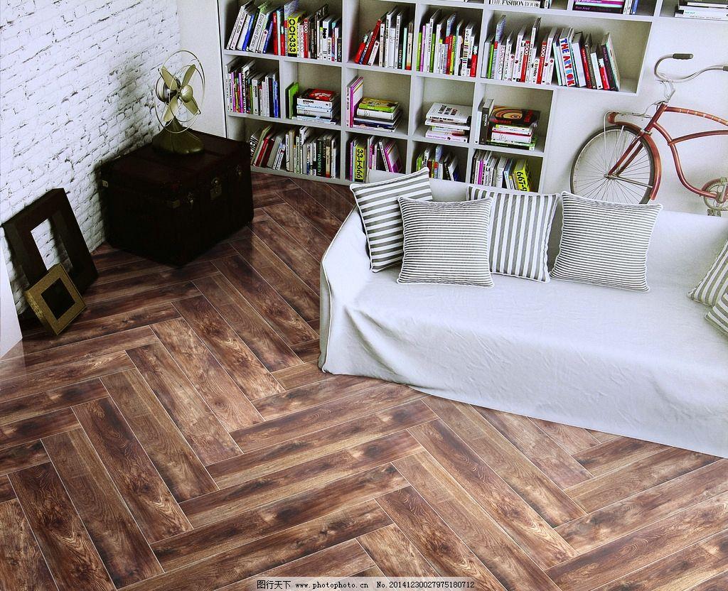 仿古砖 木纹砖 木地板                餐厅 酒吧 欧式风格 田园风格