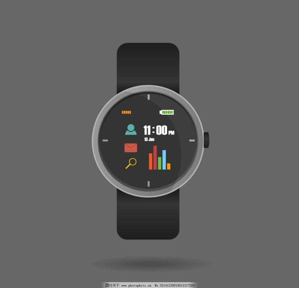 智能手表图片_网页界面模板_ui界面设计_图行天下图库