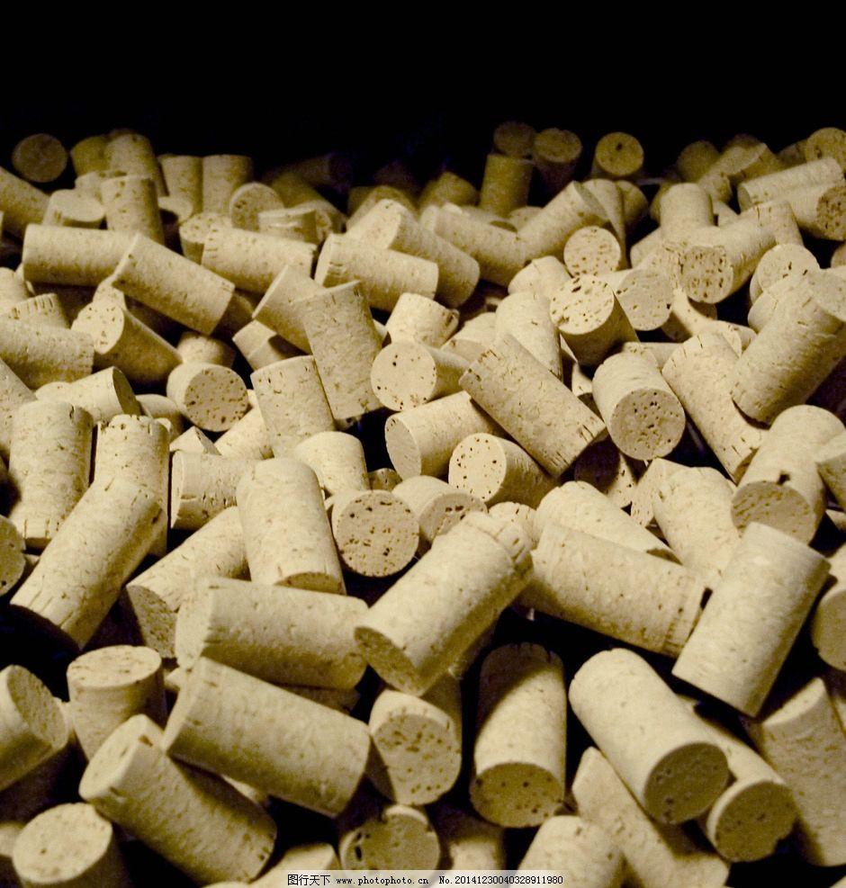 空白橡木塞 酒塞图片