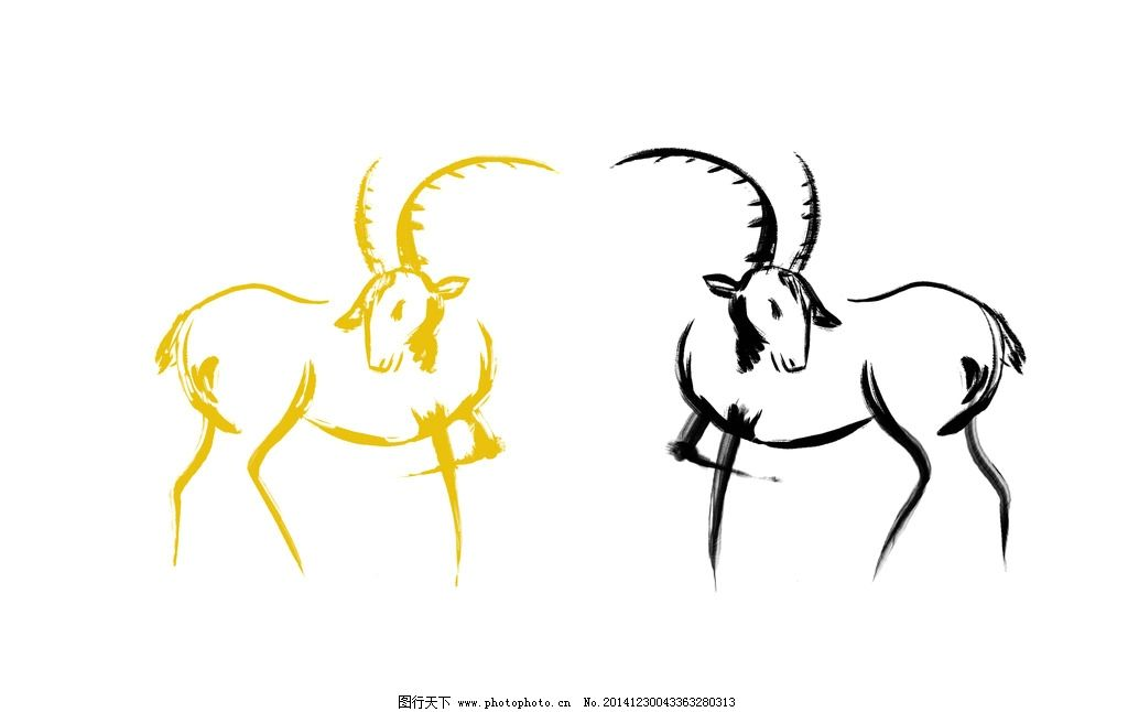 卡通羊 羊年 生肖 卡通 漫画 过年 春节 动漫 设计 动漫动画 其他 300
