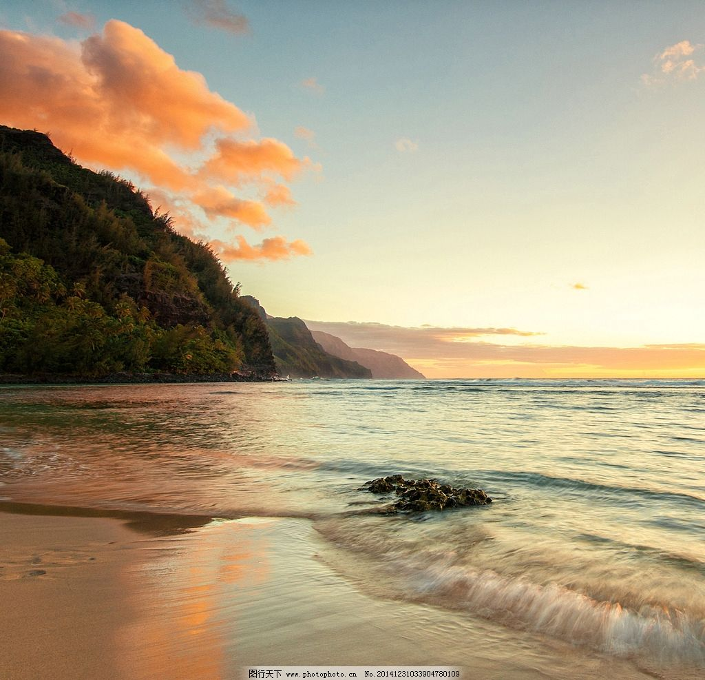 唯美 清新 秦皇岛 大海 海边 风景 风光 自然 海 夕阳 落日 日落 黄昏