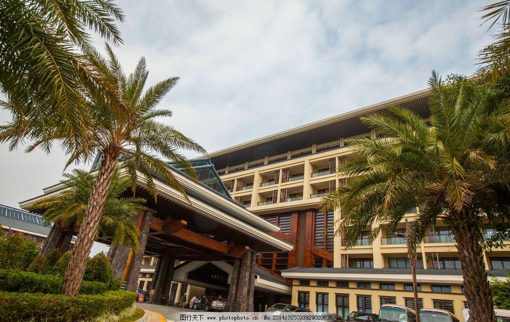 五星级酒店,五星级宾馆,豪华酒店,建筑园林,海南三亚,休闲度假,欧式风格