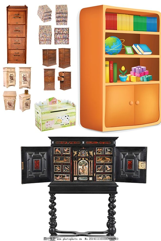 木柜素材 欧式家具 欧式木柜 欧式古典风格 实木家具 现代风格